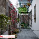 17 Thiết kế tiểu cảnh sân vườn biệt thự tân cổ điển khu đô thị vinhomes hải phòng vhi 0001