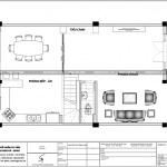 18 Mặt bằng công năng tầng 1 biệt thự tân cổ điển khu đô thị vinhomes hải phòng vhi 0001