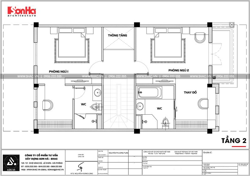 Thiết kế nội thất biệt thự đơn lập Vinhomes Imperia phong cách tân cổ điển 19
