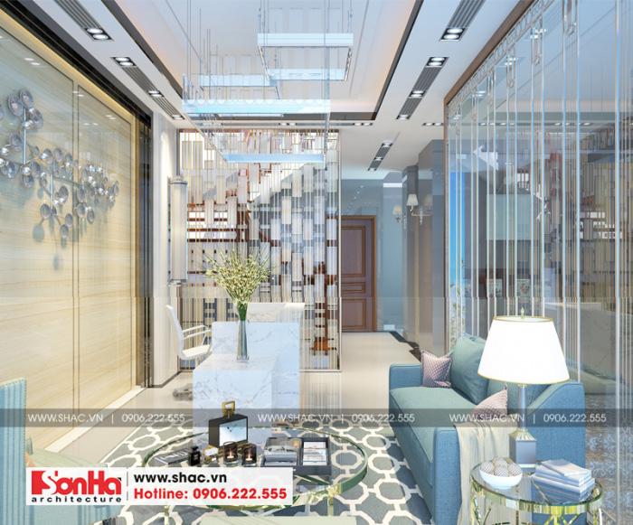 Quầy lễ tân khách sạn tiêu chuẩn 2 sao bố trí đẹp với màu sắc hợp thời