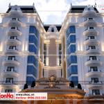 2 Mẫu thiết kế khách sạn tân cổ điển đẹp tại phú quốc sh ks 0060