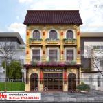 2 Mẫu thiết kế phương án 2 biệt thự 3 tầng đẹp tại quảng ninh sh btp 0124
