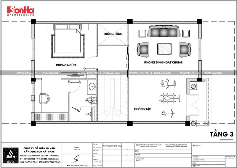 Thiết kế nội thất biệt thự đơn lập Vinhomes Imperia phong cách tân cổ điển 20