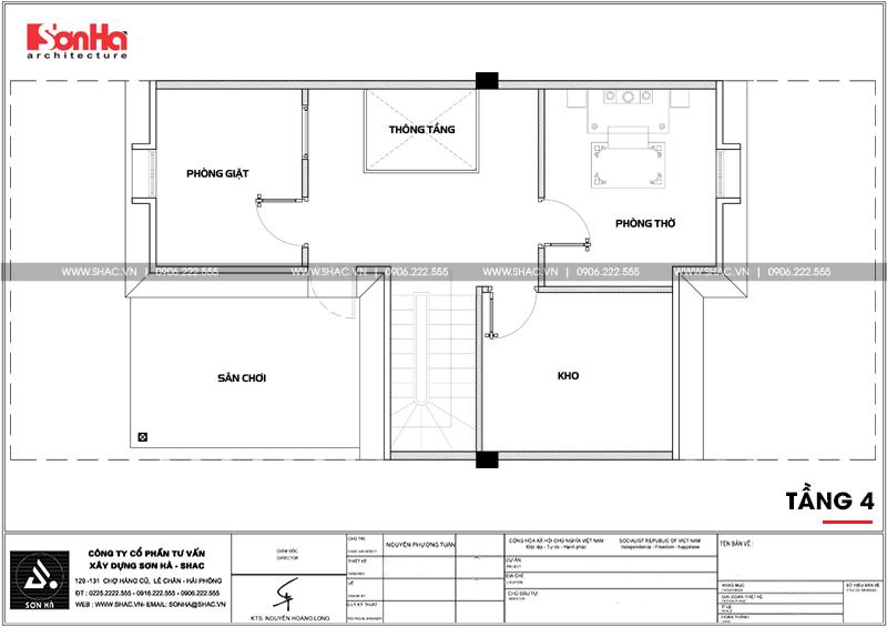 Thiết kế nội thất biệt thự đơn lập Vinhomes Imperia phong cách tân cổ điển 21