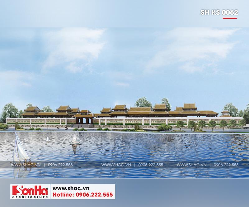 Tỉnh Phú Yên động thổ thêm một dự án trọng điểm của năm – dự án Trung tâm TMDV ô tô, khách sạn và văn phòng cho thuê Dũng Tiến do Sơn Hà Architecture thiết kế – SH KS 0062 5