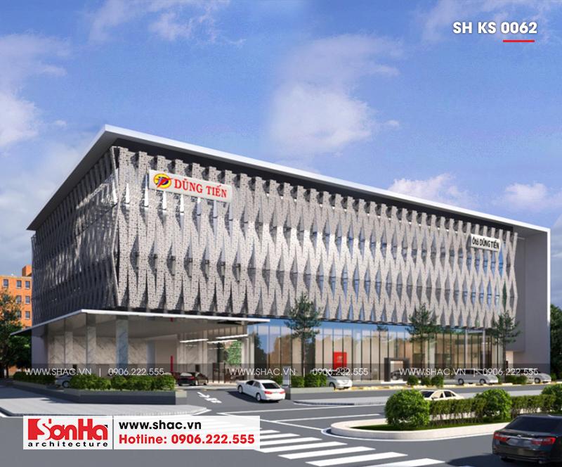 Tỉnh Phú Yên động thổ thêm một dự án trọng điểm của năm – dự án Trung tâm TMDV ô tô, khách sạn và văn phòng cho thuê Dũng Tiến do Sơn Hà Architecture thiết kế – SH KS 0062 6