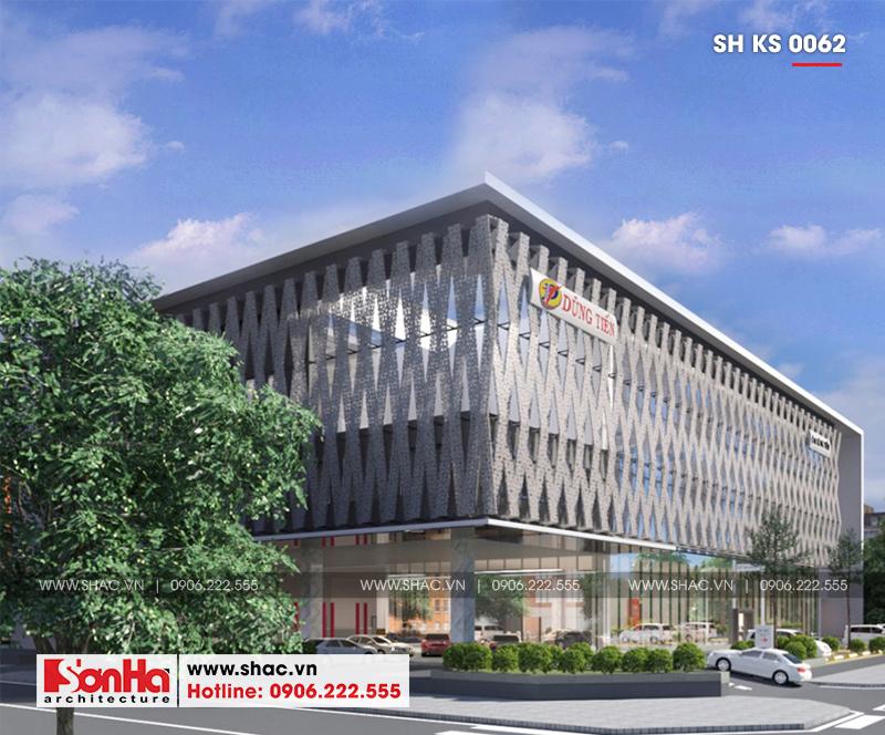 Tỉnh Phú Yên động thổ thêm một dự án trọng điểm của năm – dự án Trung tâm TMDV ô tô, khách sạn và văn phòng cho thuê Dũng Tiến do Sơn Hà Architecture thiết kế – SH KS 0062 7