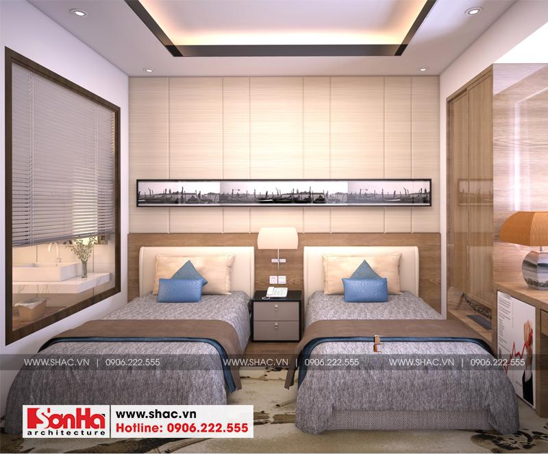 Thiết kế khách sạn mini 2 sao tân cổ điển đẹp tại Nam Định - SH KS 0061 13