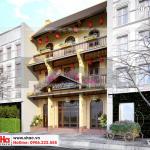 3 Thiết kế biệt thự cổ điển mặt tiền 9m đẹp tại quảng ninh sh btp 0126