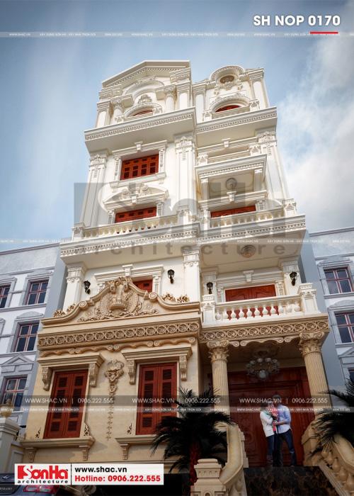 Mẫu thiết kế nhà phố cổ điển tham khảo khi xây trong năm nay