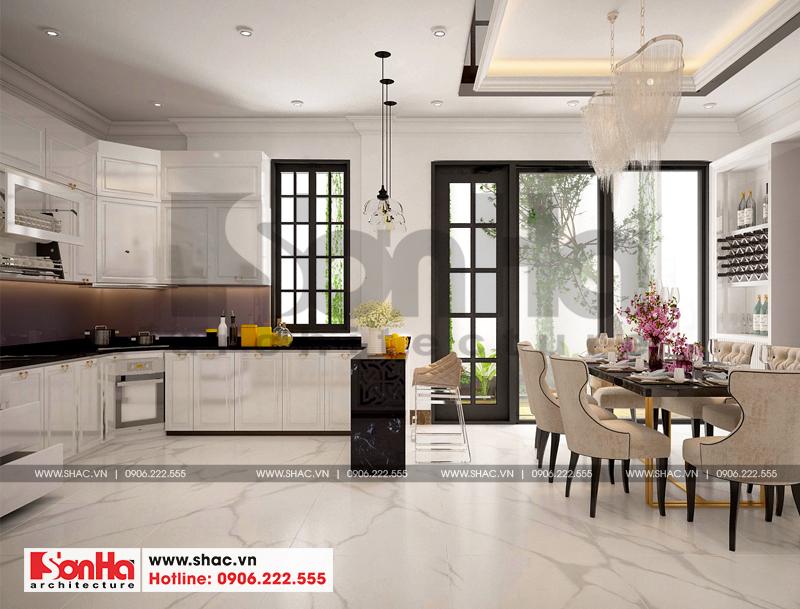 Thiết kế nội thất biệt thự đơn lập Vinhomes Imperia phong cách tân cổ điển 3