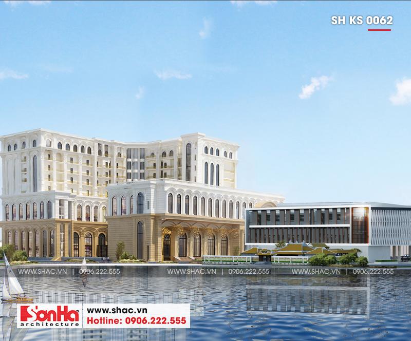 Tỉnh Phú Yên động thổ thêm một dự án trọng điểm của năm – dự án Trung tâm TMDV ô tô, khách sạn và văn phòng cho thuê Dũng Tiến do Sơn Hà Architecture thiết kế – SH KS 0062 8