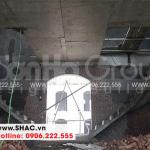 4 Ảnh thi công cầu thang biệt thự tân cổ điển khu đô thị vinhomes hải phòng sh btp 0125