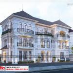 4 Biệt thự tân cổ điển song lập tại khu đô thị vinhomes imperia hải phòng sh btp 0125