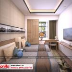 4 Cách bố trí nội thất phòng ngủ khách sạn đẹp tại nam định sh ks 0061