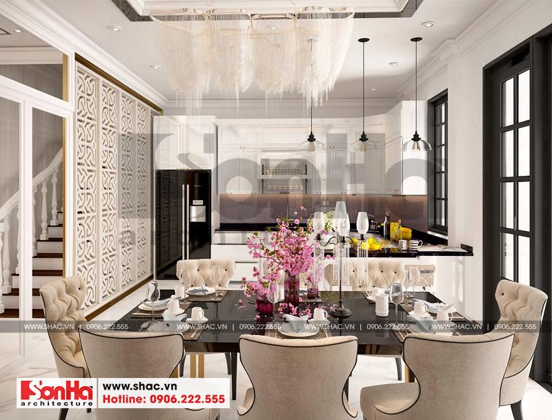 Thiết kế nội thất biệt thự đơn lập Vinhomes Imperia phong cách tân cổ điển 4