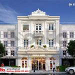 4 Mẫu phương án 3 biệt thự kiến trúc pháp tại quảng ninh sh btp 0124