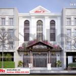 4 Mẫu thiết kế biệt thự cổ điển 3 tầng kết hợp kinh doanh tại quảng ninh sh btp 0126