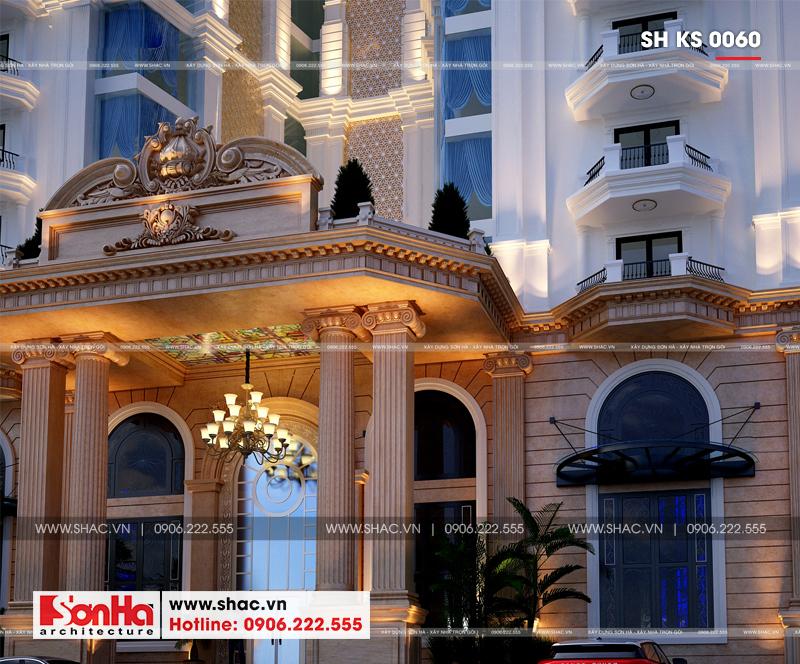 Thiết kế khách sạn tân cổ điển 4 sao 2000m2 tại Phú Quốc – SH KS 0060 5