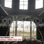 5 Ảnh thi công biệt thự tân cổ điển 3 tầng đẹp khu đô thị vinhomes hải phòng sh btp 0125