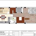 5 Mặt bằng công năng tầng 2 khách sạn tân cổ điển 8 tầng tại nam định sh ks 0061