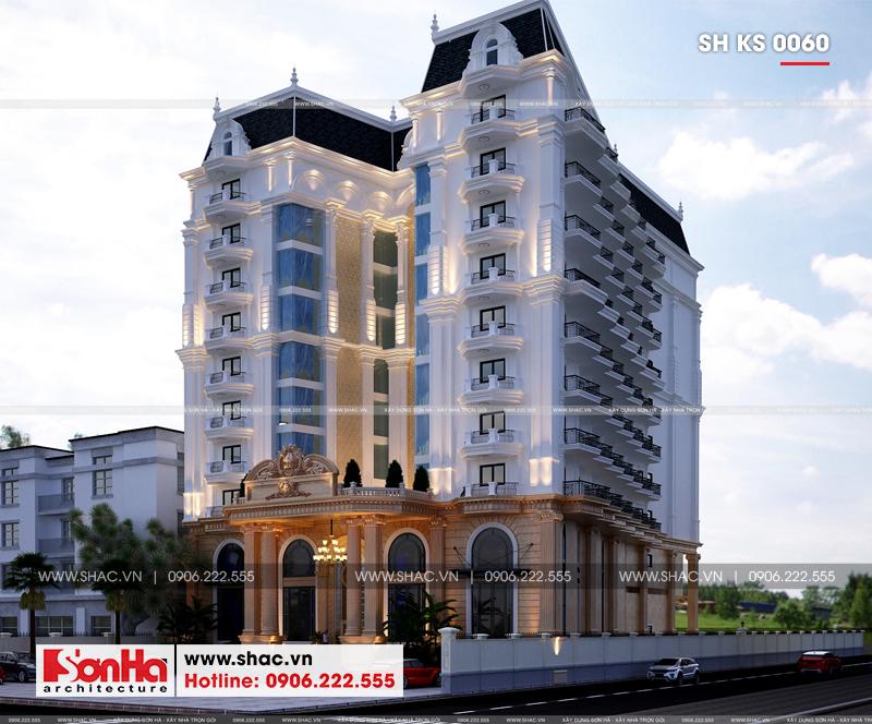 Thiết kế khách sạn tân cổ điển 4 sao 2000m2 tại Phú Quốc – SH KS 0060 3