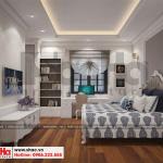5 Thiết kế nội thất phòng ngủ 1 biệt thự tân cổ điển khu đô thị vinhomes hải phòng vhi 0001
