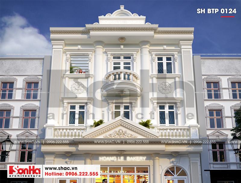 Biệt thự kiểu Pháp 3 tầng kết hợp kinh doanh diện tích 162m2 tại Quảng Ninh – SH BTP 0124 8