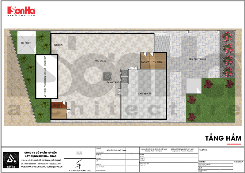 Thiết kế khách sạn tân cổ điển 4 sao 2000m2 tại Phú Quốc – SH KS 0060 6