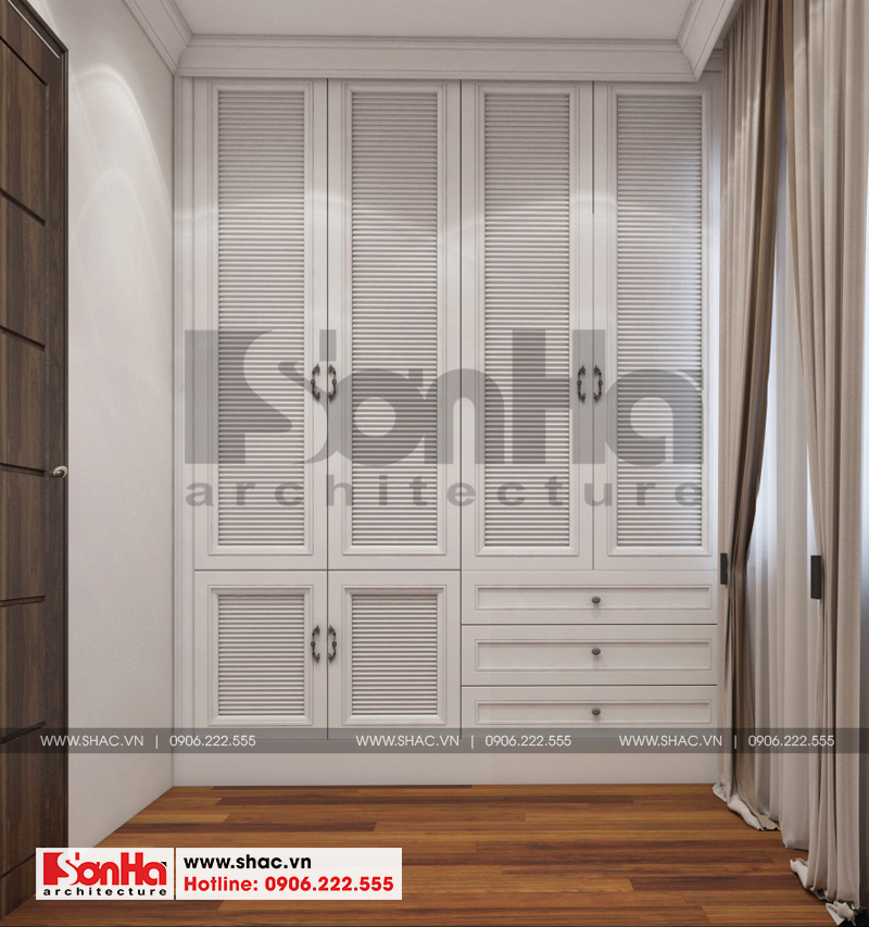 Thiết kế nội thất biệt thự đơn lập Vinhomes Imperia phong cách tân cổ điển 6