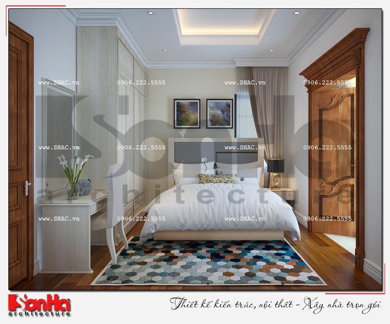 Cách sử dụng gỗ tự nhiên trong thiết kế nội thất biệt thự Vinhomes Imperia Hải Phòng 6
