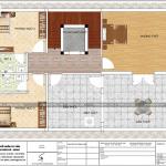 7 Mặt bằng công năng tầng 3 biệt thự cổ điển kết hợp kinh doanh đẹp tại quảng ninh sh btp 0126