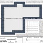 7 Mặt bằng công năng tầng mái biệt thự lâu đài cổ điển tại đà nẵng sh btld 0038