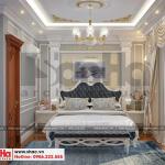 7 Thiết kế nội thất phòng ngủ 2 biệt thự tân cổ điển đẹp khu đô thị vinhomes hải phòng sh btp 0125