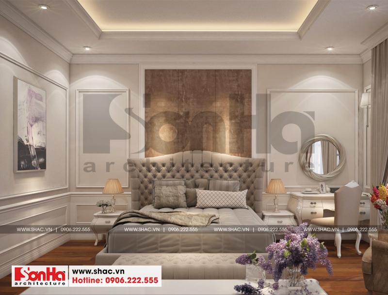Thiết kế nội thất biệt thự đơn lập Vinhomes Imperia phong cách tân cổ điển 7