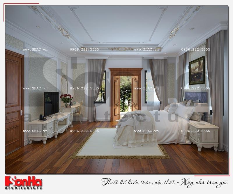 Cách sử dụng gỗ tự nhiên trong thiết kế nội thất biệt thự Vinhomes Imperia Hải Phòng 7