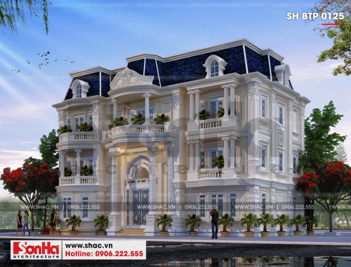 Biệt thự tân cổ điển VENICE nổi bật với thiết kế giản dị nhưng tinh tế từng tiểu tiết