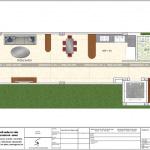 8 Mặt bằng công năng tầng 6 nhà ống kết hợp kinh doanh tại hà nội sh nop 0168
