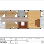 8 Mặt bằng công năng tầng mái khách sạn mini đẹp tại nam định sh ks 0061