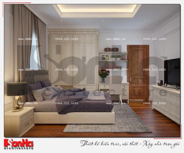 8 Mẫu nội thất phòng ngủ 2 biệt thự tân cổ điển khu đô thị vinhomes hải phòng