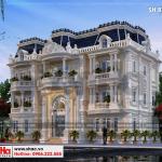 8 Mẫu thiết kế phương án 6 biệt thự song lập khu đô thị vinhomes hải phòng sh btp 0125