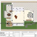 9 Mặt bằng công năng tầng 1 biệt thự 3 tầng đẹp khu đô thị vinhomes hải phòng sh btp 0125