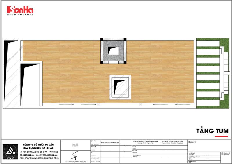 Thiết kế khách sạn mini 2 sao tân cổ điển đẹp tại Nam Định - SH KS 0061 9
