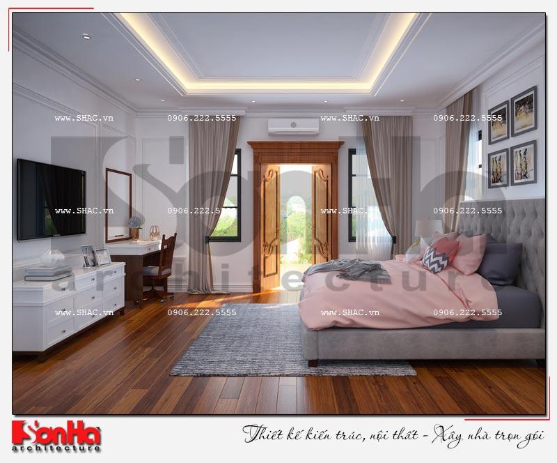 Cách sử dụng gỗ tự nhiên trong thiết kế nội thất biệt thự Vinhomes Imperia Hải Phòng 10