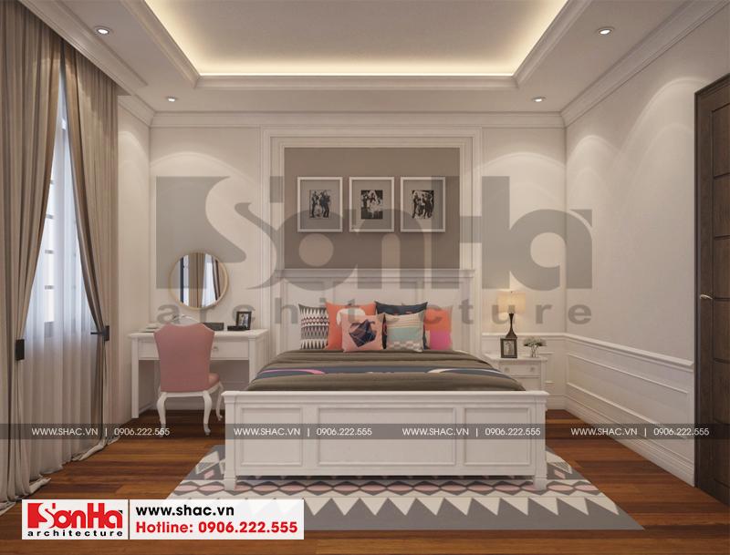 Thiết kế nội thất biệt thự đơn lập Vinhomes Imperia phong cách tân cổ điển 9