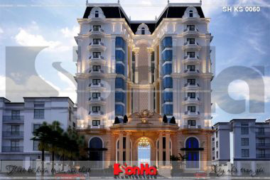 BÌA mẫu thiết kế khách sạn tân cổ điển 4 sao tại phú quốc sh ks 0060