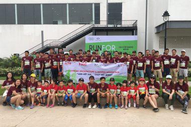 CBNV Sơn Hà Architecture tham gia chạy bộ gây quỹ học bổng GẠO 17