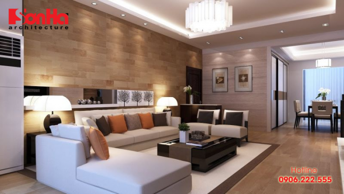 Một trong những cách bố trí phòng khách phù hợp tiêu chuẩn cho căn hộ
