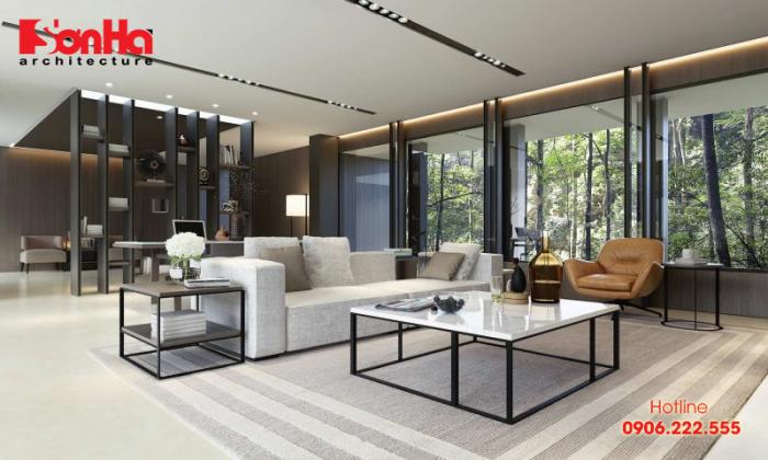 Một trong những xu hướng mới trong cách trang trí phòng khách đẹp