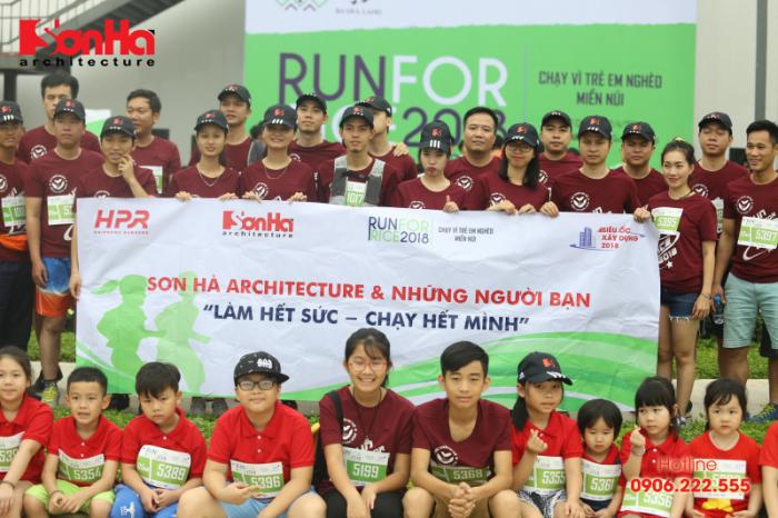 Sơn Hà Architecture tham gia chạy bộ gây quỹ học bổng GẠO (1)
